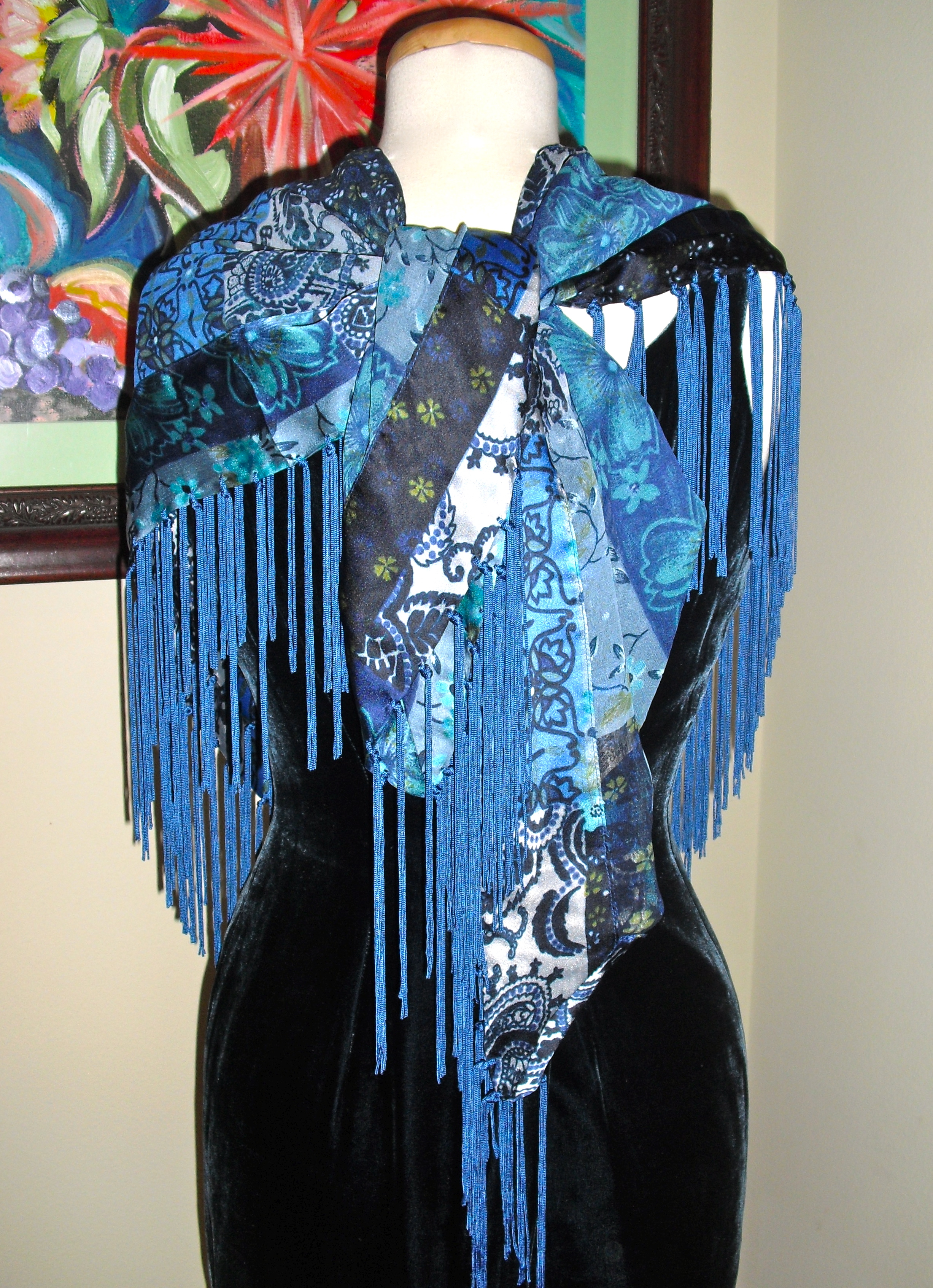 Buy How to square a wear fringe scarf pictures trends
