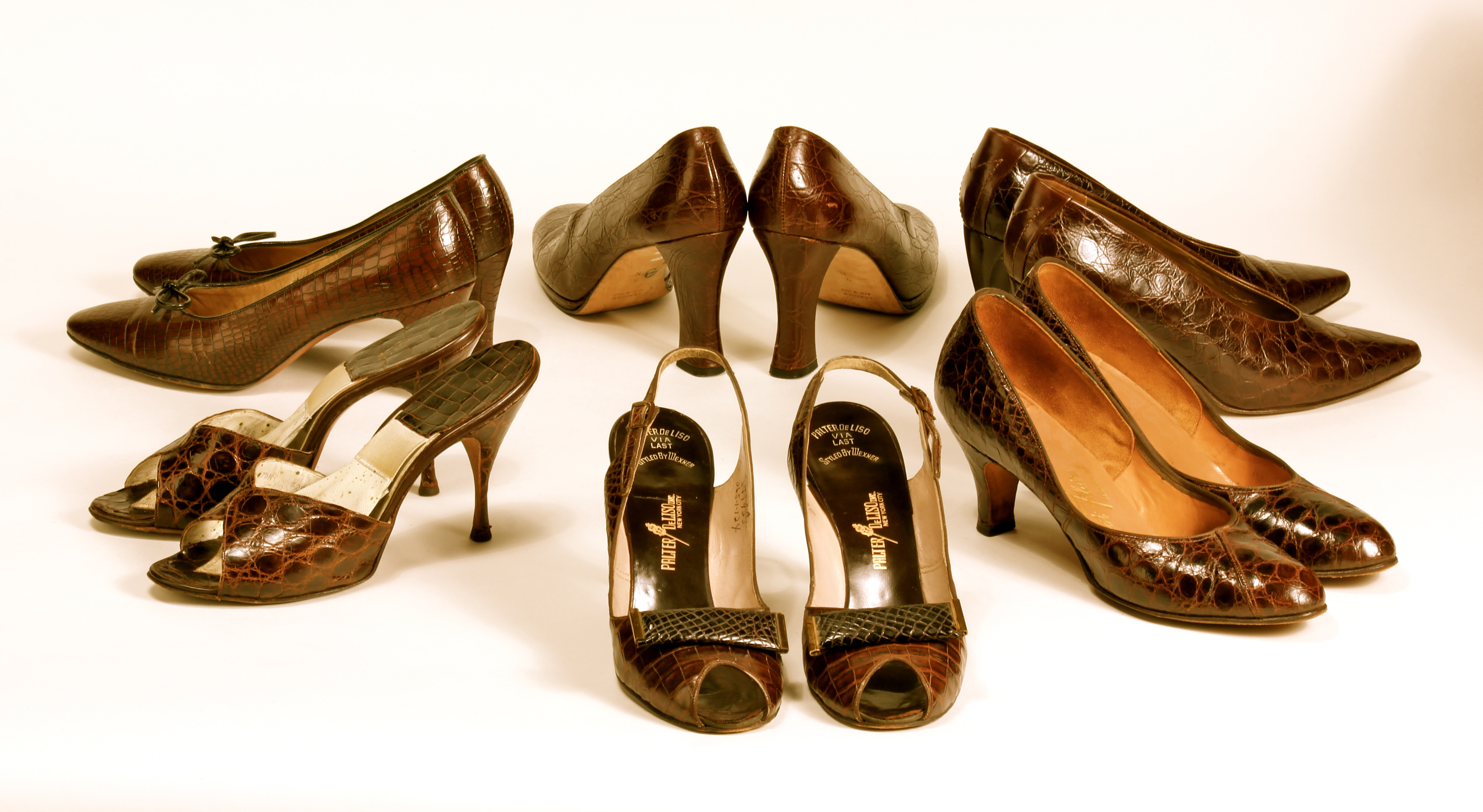 Treasures Vintage Alligator Shoes in the Lady Violette Shoe Collection