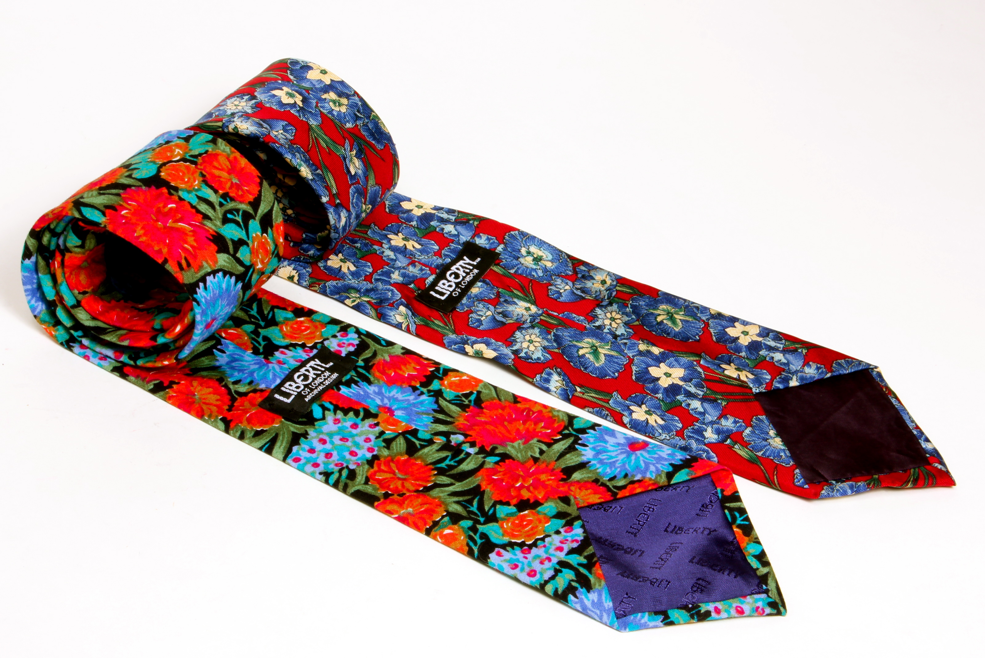 My Amazing Quest For Beautiful Liberty Of London Vintage Ties 171 Lady Violette