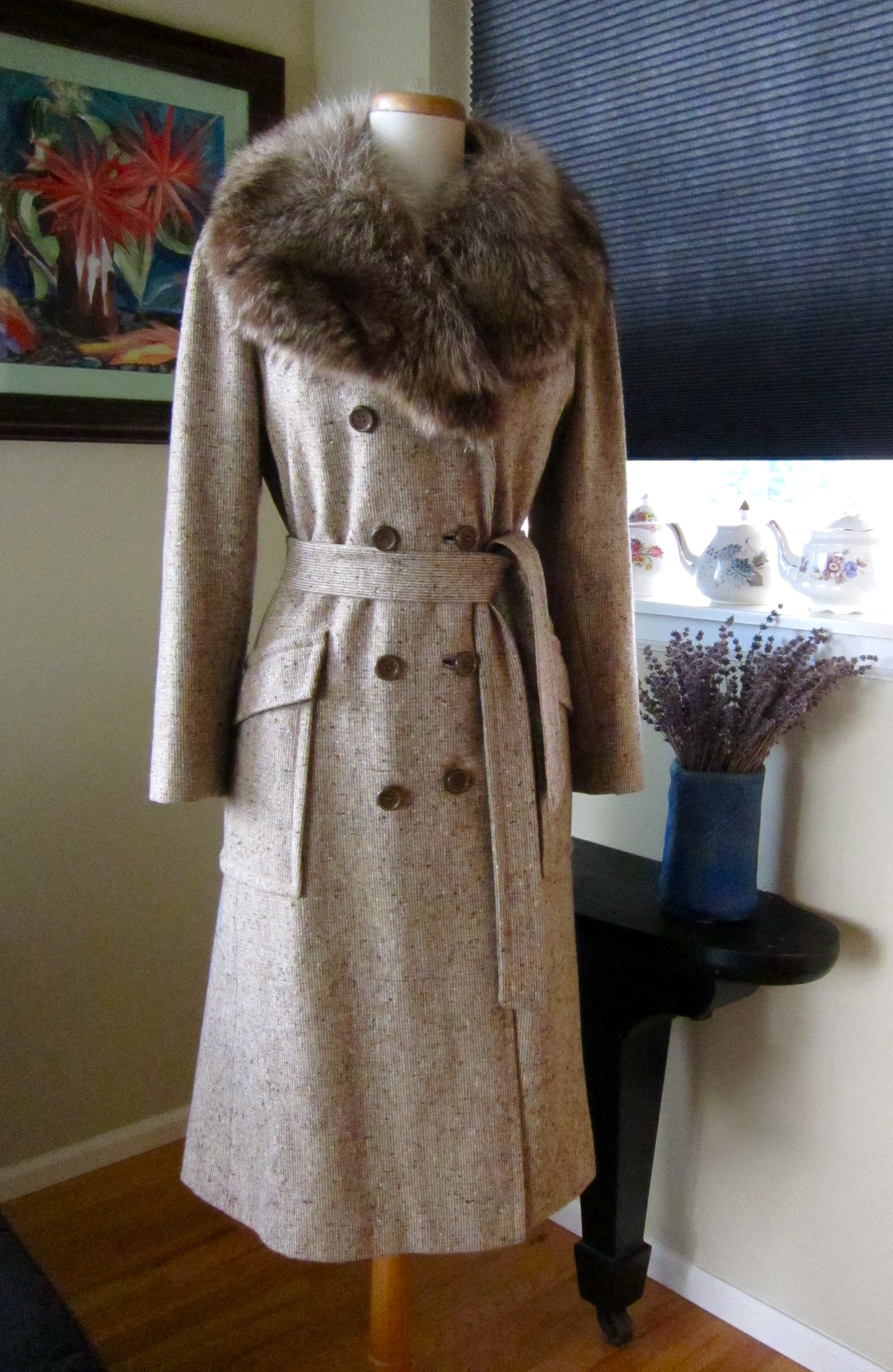 Fashion Tweed Jackets Ladies